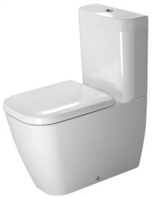 White Happy D.2 Toilet Close-coupled