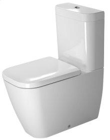 White Happy D.2 Toilet Close-coupled