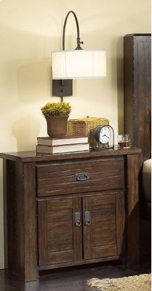 Nightstand - Mesquite Pine Finish
