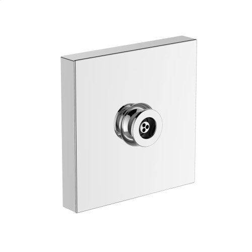Gyrostream® Body Spray - Square - Brushed Nickel