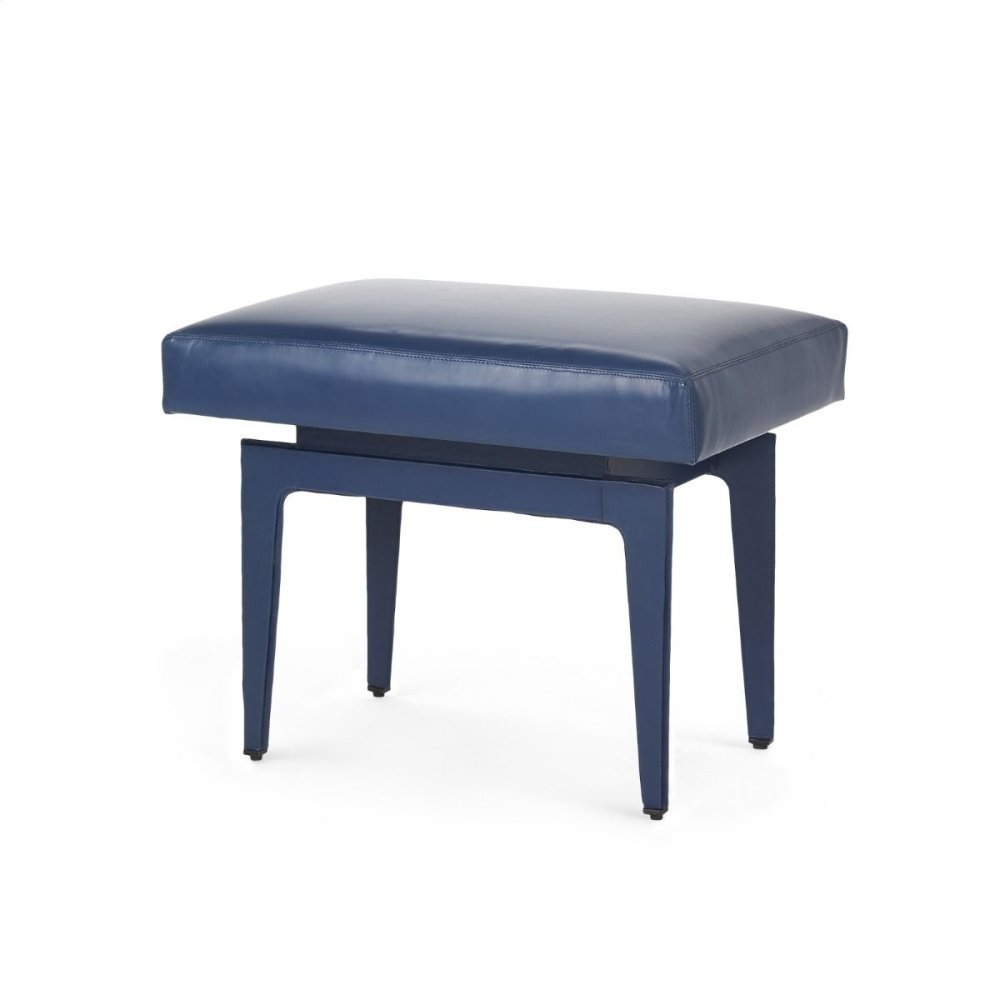 Winston Stool, Navy Blue