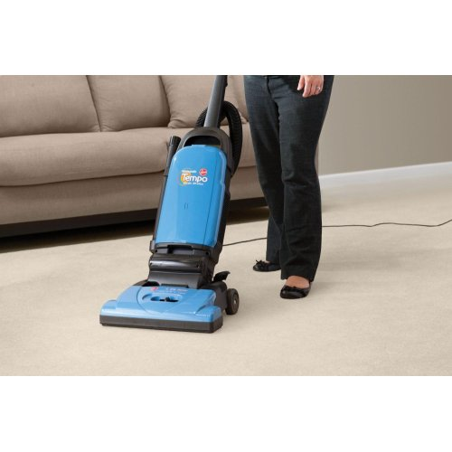 Tempo Widepath Bagged Upright Vacuum