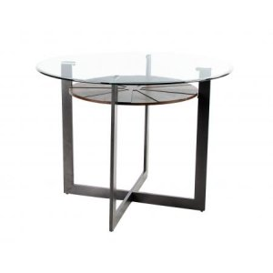 Steve Silver Co.Olson 48-inch Counter Glass Top Table