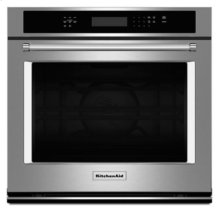 """Floor Model - 30"""" Single Wall Oven with Even-Heat True Convection - Stainless Steel"""