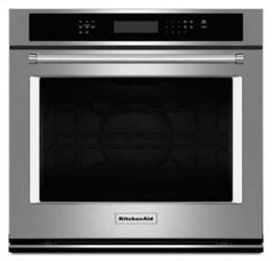 """30"""" Single Wall Oven with Even-Heat™ True Convection - Stainless Steel"""