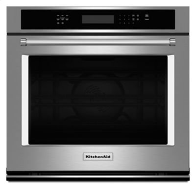"30"" Single Wall Oven with Even-Heat True Convection - Stainless Steel Product Image"