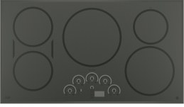 "GE Cafe 36"" Electric Cooktop with Induction Elements"