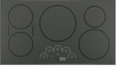 """GE Cafe 36"""" Electric Cooktop with Induction Elements Product Image"""