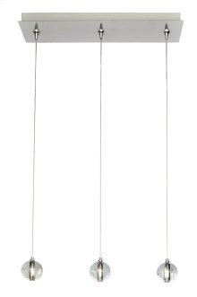Harmony 3-Light RapidJack Pendant and Canopy