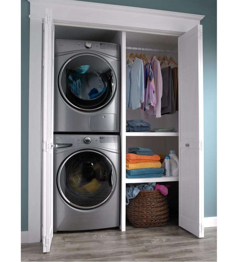 Front Load Washer With Closet Depth Fit