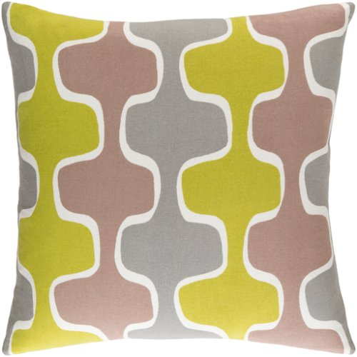 "Trudy TRUD-7128 18"" x 18"" Pillow Shell with Down Insert"