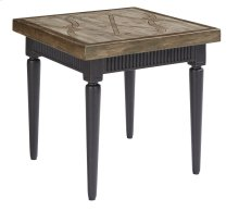 "Leon 22"" SQ.END Table"