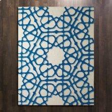 Rose Window Rug-Blue-9' x 12'