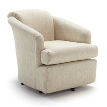 CASS Swivel Barrel Chair