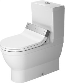 White Starck 3 Toilet Close-coupled For Sensowash®