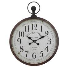 Kensington Station Pocket Watch Style Wall Clock