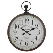 Kensington Station Pocket Watch Style Wall Clock