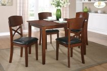 5-Piece Pack Dinette Set Table: 35.5 x 47.25 x 30H Chair: 18 x 20.5 x 36H Product Image