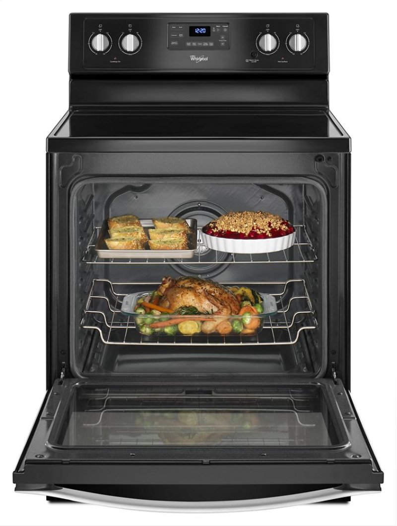 Ft Freestanding Electric Range With Aqualift Self Cleaning Technology