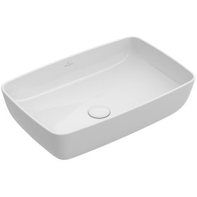 Surface-mounted Washbasin Angular - Fog