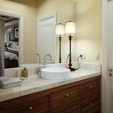 Raina Round Semi-recessed Vitreous China Bathroom Sink