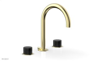 BASIC II Widespread Faucet 230-03 - Polished Brass Uncoated