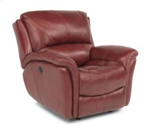 Dominique Leather Power Glider Recliner
