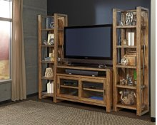"55"" TV Console With Pair of Piers"