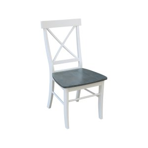 JOHN THOMAS FURNITUREX-Back Chair in White Grey