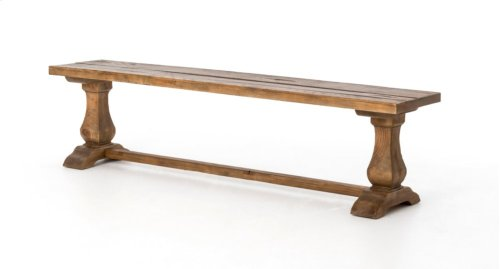 "Durham 72"" Dining Bench W/oak Top-bleach"