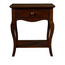 Teaberry Lane Midnight Cherry Night Table