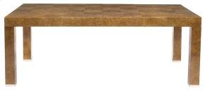 Soho Luxe Dining Table in Dark Caramel (368)