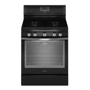 5.8 Cu. Ft. Freestanding Gas Range with Center Burner - BLACK ICE