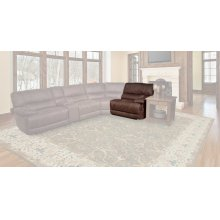 Pegasus Dark Kahlua Power Right Arm Facing Recliner