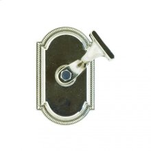Ellis Handrail Bracket White Bronze Medium