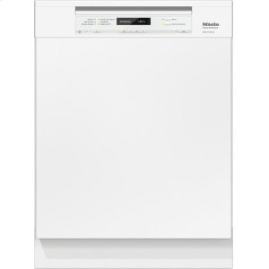 MieleG 6745 SCU AM Pre-finished, full-size dishwasher with visible control panel, 3D+ cutlery tray and AutoOpen Drying