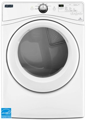 Crosley Front Load Dryer - Electric Dryer - White