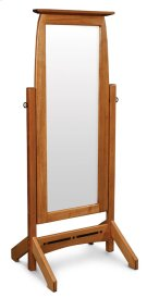 Aspen Cheval Mirror with Inlay Product Image
