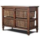 4-Basket Horizontal Storage Cabinet Product Image