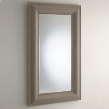 Toile Linen Floor Mirror-Grey