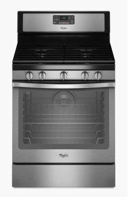 Whirlpool® 5.8 Cu. Ft. Freestanding Gas Range with Center Burner