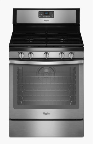 5.8 Cu. Ft. Freestanding Gas Range with Center Burner Product Image