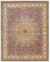 Nourison 2000 2117 Lav Rectangle Rug 7'9'' X 9'9''