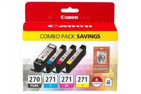Canon PGI-270/CLI-271 Combo Ink Pack PGI-270/CLI-271 Combo Pack