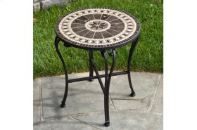 "Gibraltar 20"" Round Marble Mosaic Table Top"