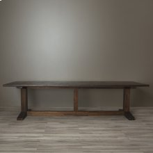 "120"" Antique Copper Copper Farmhouse Table"