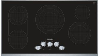 36 inch Masterpiece™ Series Electric Cooktop CEM366TB