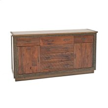 Berkeley - 6 Drawer 2 Door Dresser