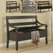 Kennedy Storage Bench Grey Product Image