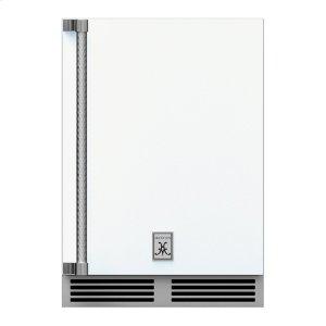 """Hestan24"""" Hestan Outdoor Undercounter Refrigerator (Solid Door) - GRSR Series - Froth"""